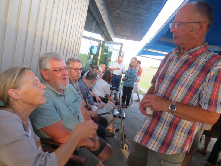 Entre la ferme, la vigne, la piscine , le marché de Noêl, et autres manifestations, plus de 80 bénévoles se cotoient dans l'association.