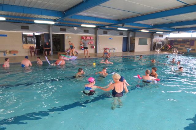 On retrouve les bassins de la piscine de Mirecourt avec plaisir.