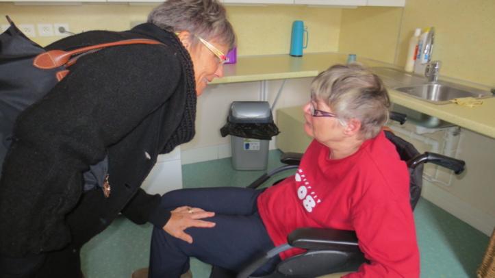 Visite d'une structure pour personnes handicapées vieillissantes à Novéant sur Moselle