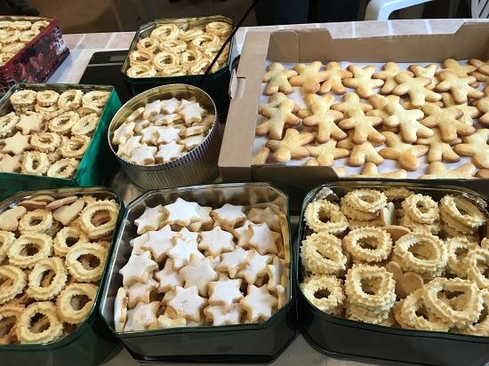 Les bénévoles se sont encore surpassés pour offrir ce qu'ils savent faire de meilleur pour Noël