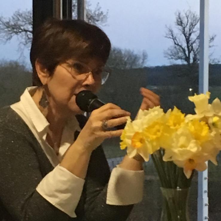 L'intervention de Corinne Gasperini, la directrice du foyer.
