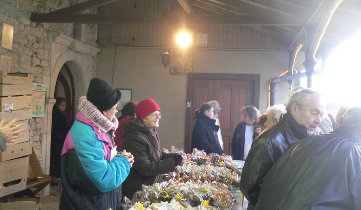 Succès du marché de Noël à Sion