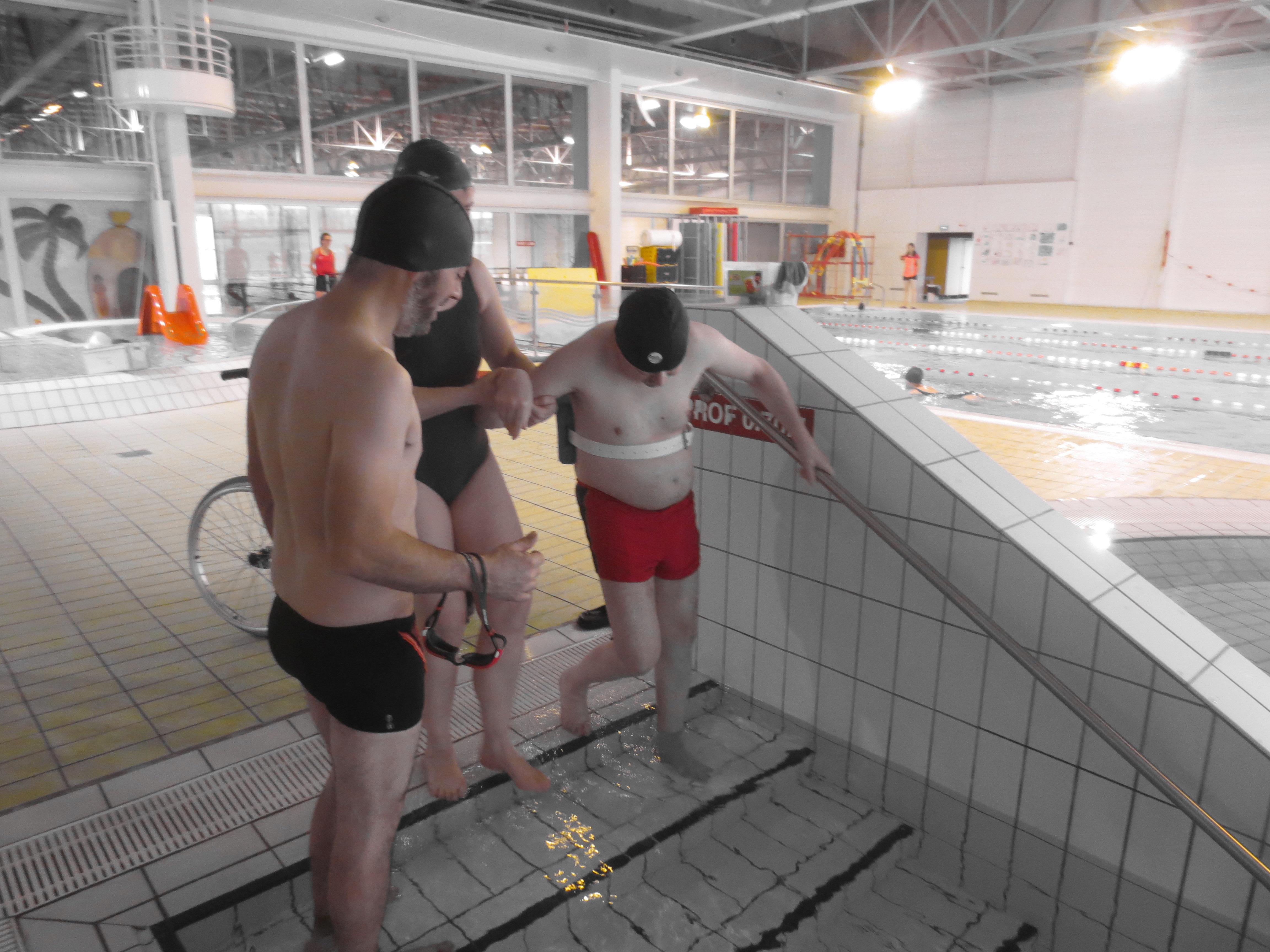 Accés aux bassins : facile!