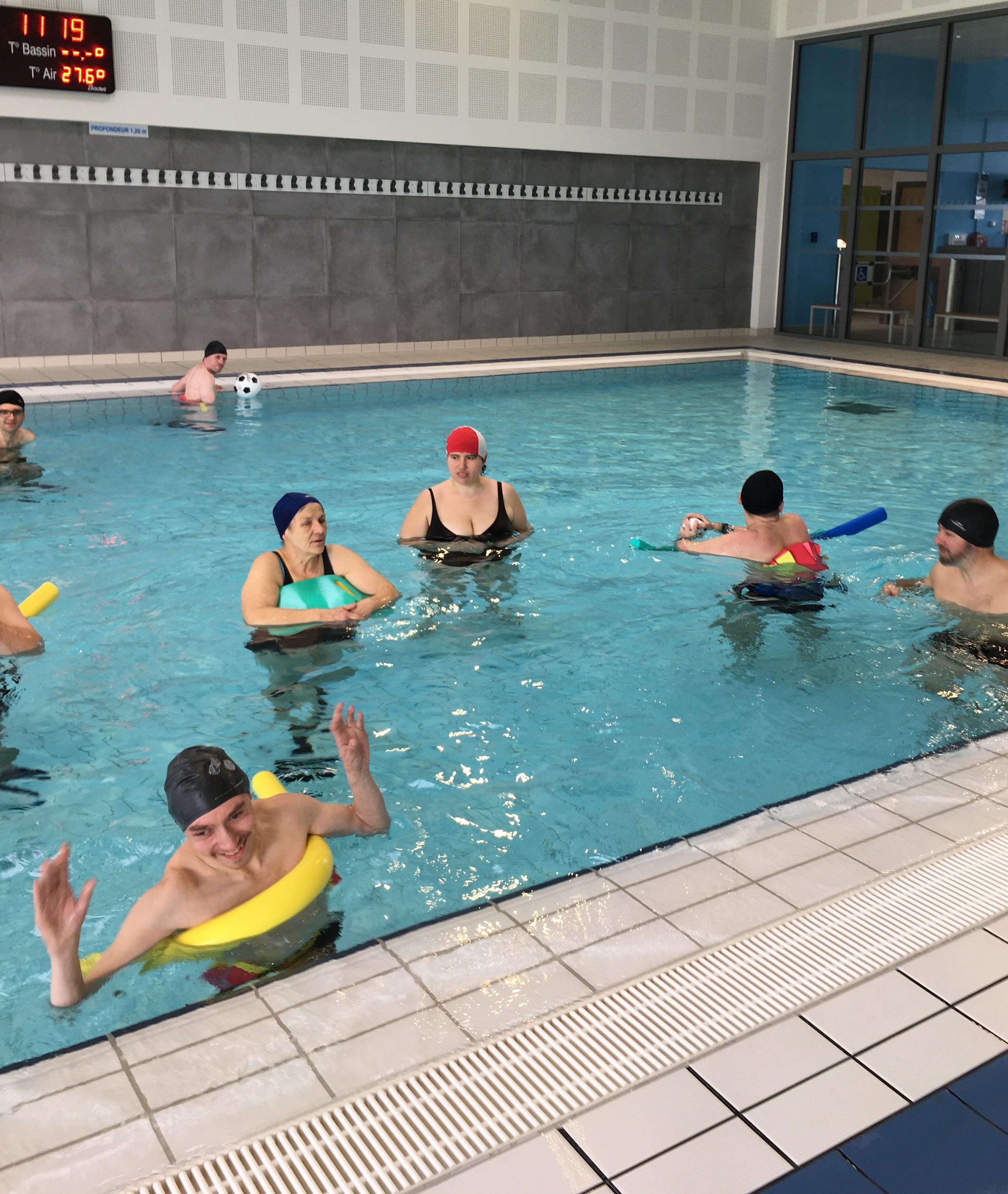 Retour à la piscine à Mirecourt