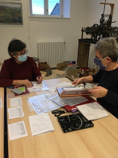 Dominique et Thérèse au management.