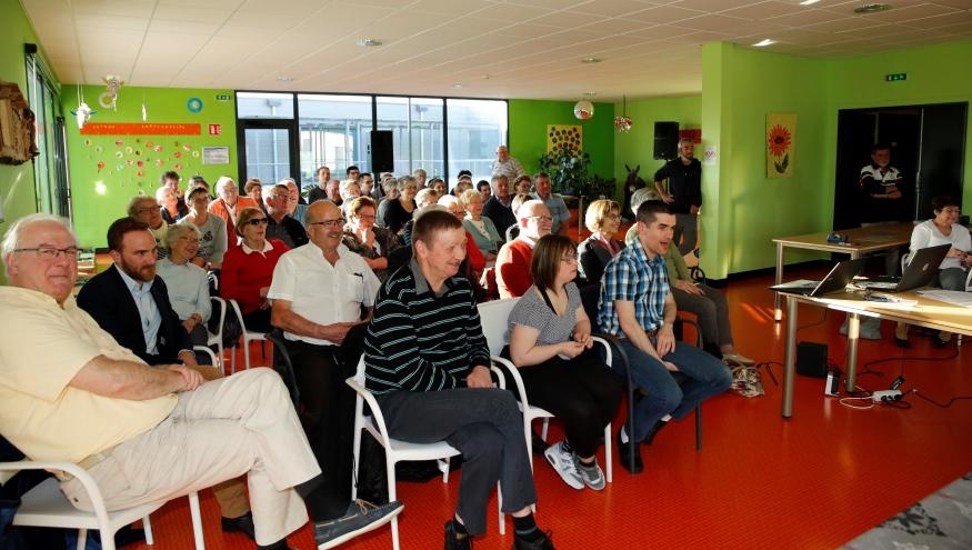 Une soixantaine de personnes étaient présentes à cette assemblée.