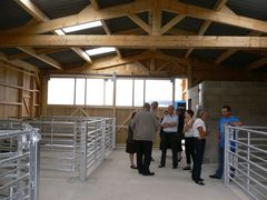reception travaux ferme